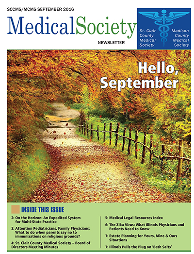 Newsletter for St. Clair County Medical Society