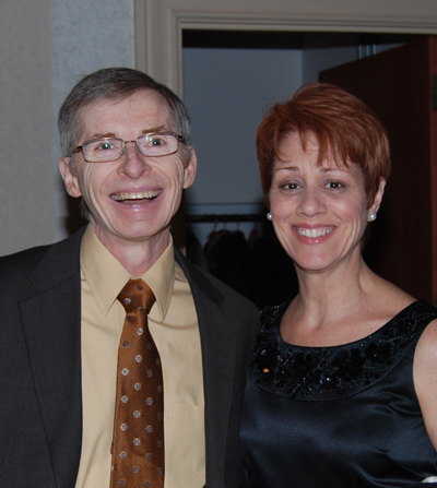 Dr. and Mrs. Cahill